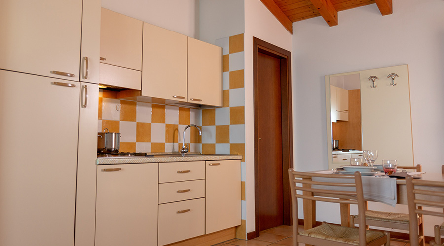 Appartamento per 4 con vista lago